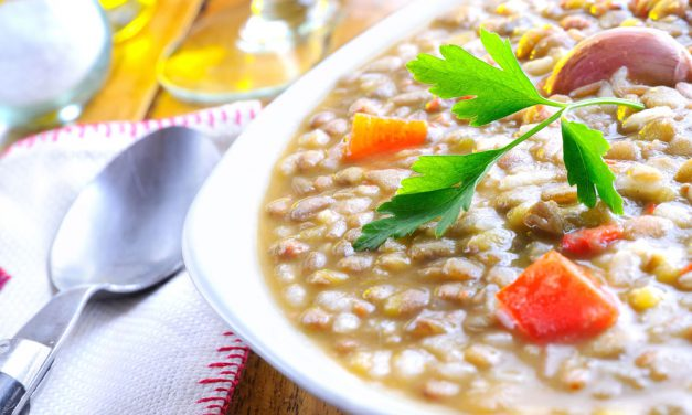 White Wine Lentil Stew