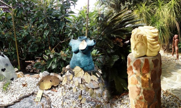 A visit to Kitty Harri's Sculpture Garden