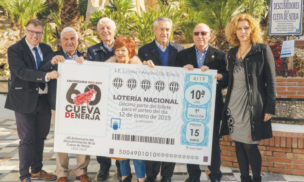 Nerja's caves at 60