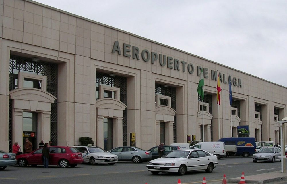 Málaga airport incident